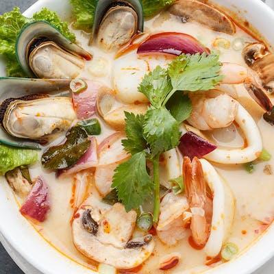 Pork Tom Yum Noodles