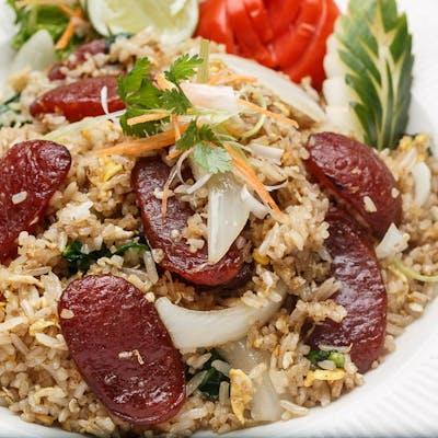 Sweet Sausage Fried Rice