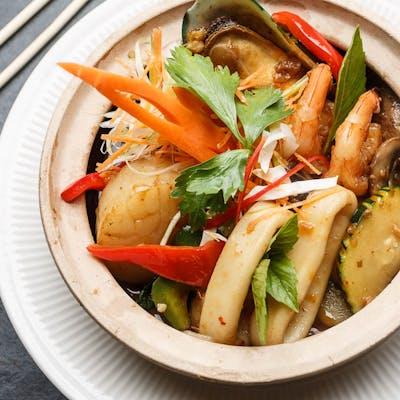 Seafood Hot-Pot