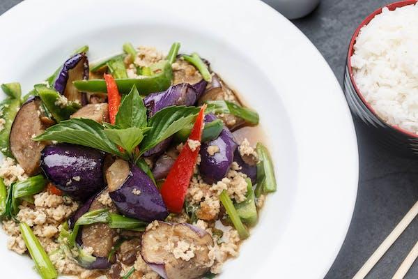 Vegan Eggplant Lover