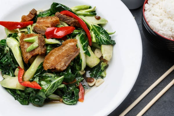 Vegan Spicy Chinese Broccoli