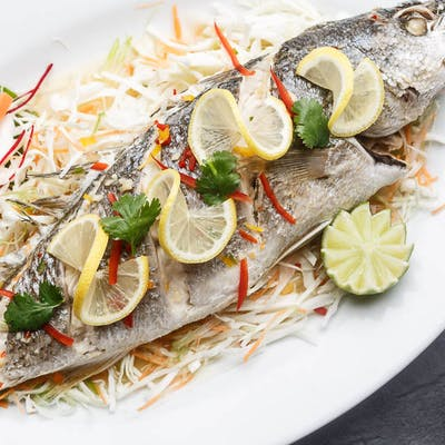 Lime Steamed Whole Fish