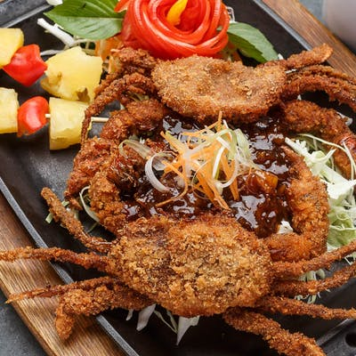Volcano Fish or Soft-Shell Crab