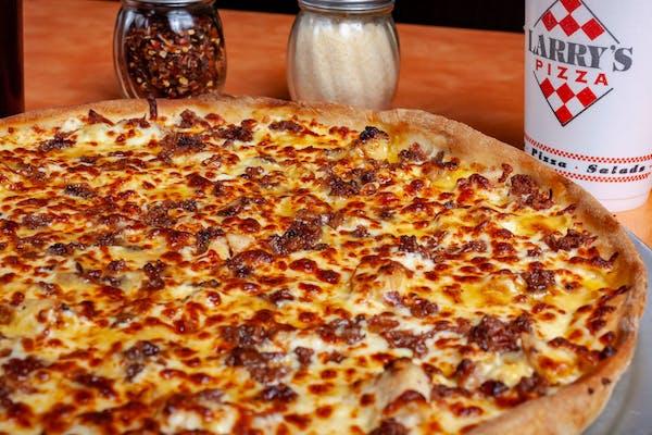 Chicken Honey Mustard Pizza