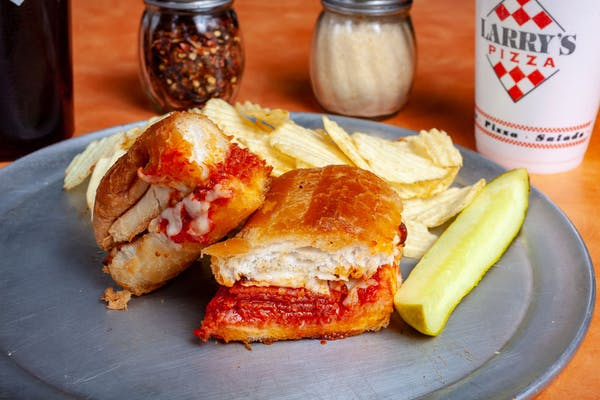 Pepperoni Submarine Sandwich