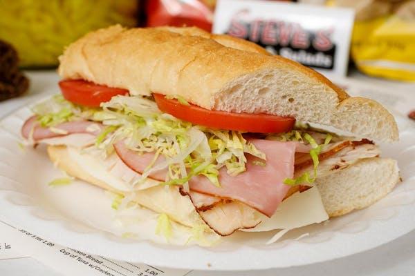 Ham, Turkey & Cheese Sub Sandwich