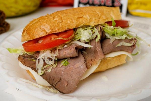 Roast Beef & Cheese Sub Sandwich