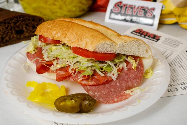 Salami, Capicola & Cheese Sub Sandwich