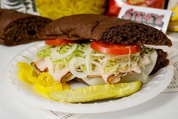 Turkey & Cheese Sub Sandwich