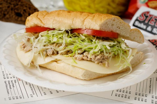 Tuna & Cheese Sub Sandwich
