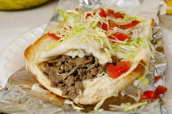 Steak & Cheese Sub Sandwich