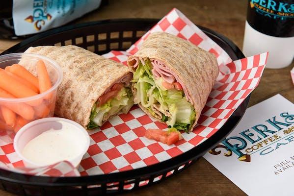 Ham & Swiss Wrap