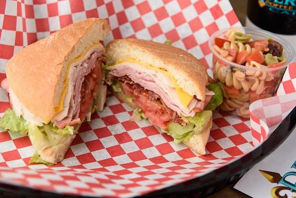 Artisan Club Sandwich