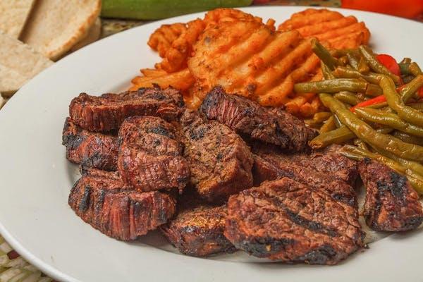 Sliced Filet of Beef