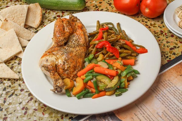 Baked Half-Chicken