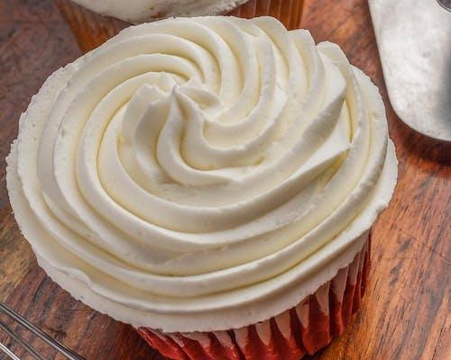 Stuffed Red Velvet Cupcake