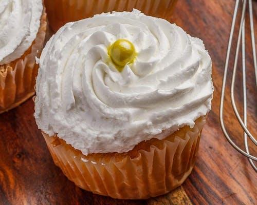 Stuffed White Cupcake