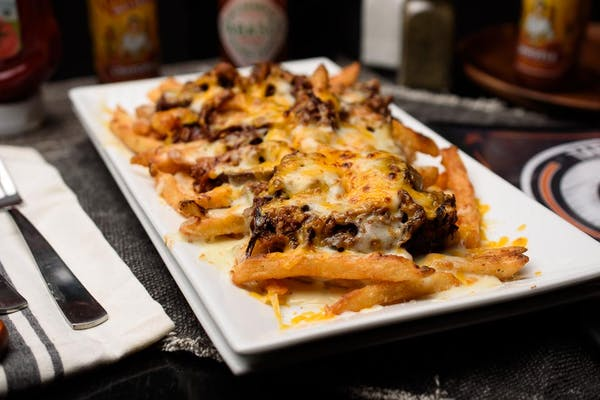 Pulled Pork Cheese Fries