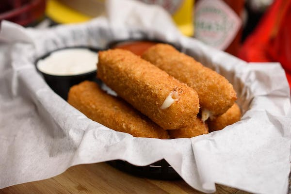 Beer-Battered Cheese Sticks