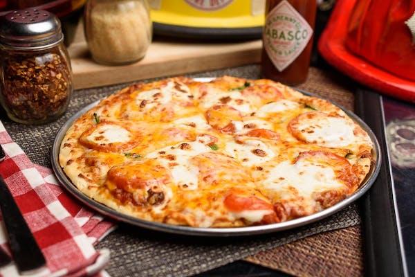 Five-Cheese & Tomato Pizza