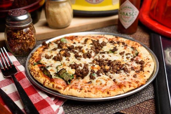 Beef & Feta Pizza