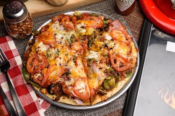 The Kitchen Sink Pizza