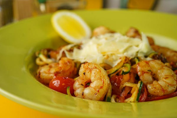 Lean Shrimp Scampi