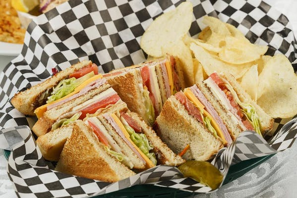 Old-Fashioned Club Sandwich