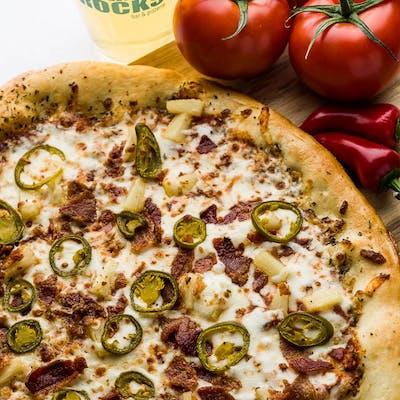 Spicy F@%#ing Hawaiian Pizza