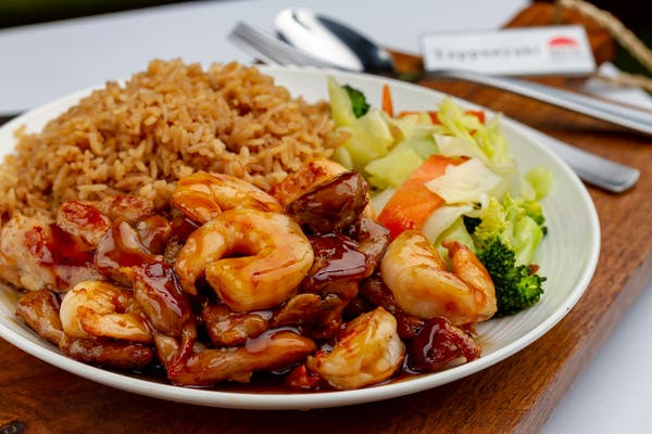 Chicken & Shrimp Teriyaki