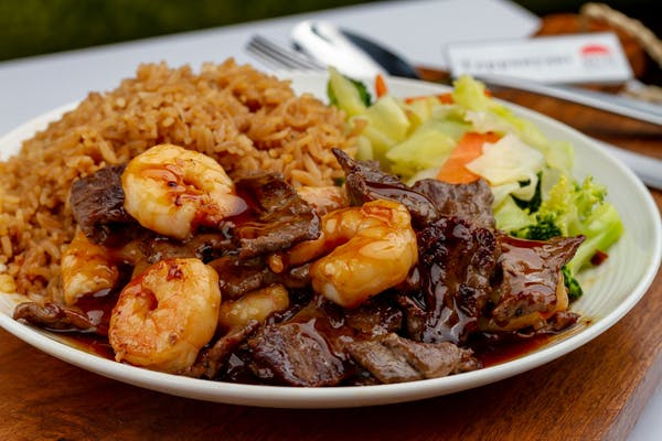 Beef & Shrimp Teriyaki