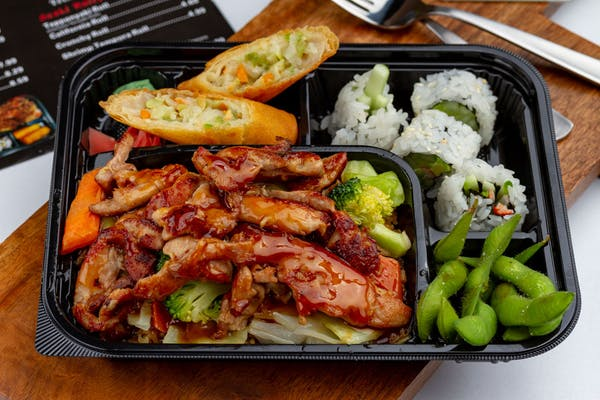Chicken Teriyaki Bento Box