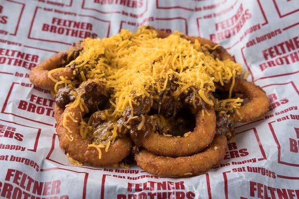 CHILI CHEESE ONION RINGS