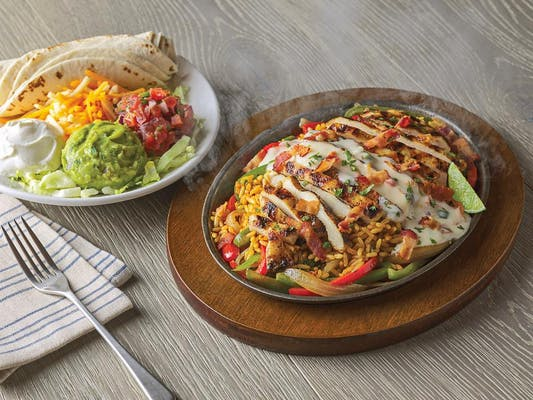 Loaded Chicken Fajitas