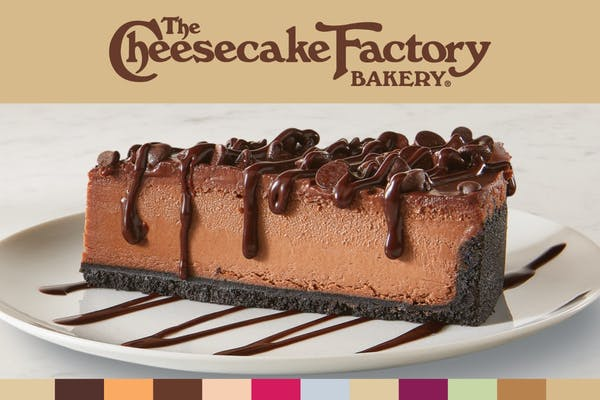 The Cheesecake Factory Bakery Triple Chocolate Cheesecake