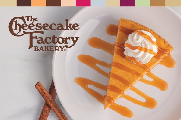 The Cheesecake Factory Bakery Pumpkin Cheesecake