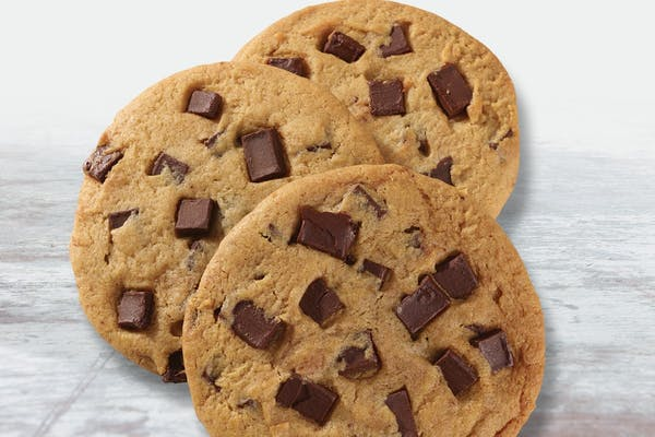 Four Chocolate Chunk Cookies