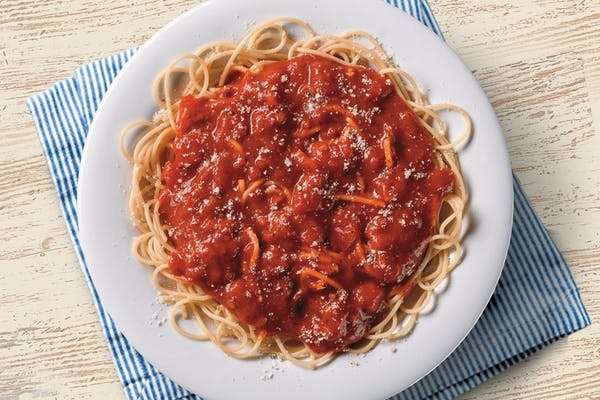 Small Spaghetti with Meat Sauce