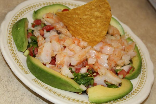 Shrimp Ceviche (Spicy)