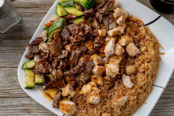 Chicken & Steak Hibachi Dinner