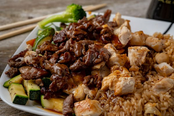 Chicken & Steak Hibachi Lunch