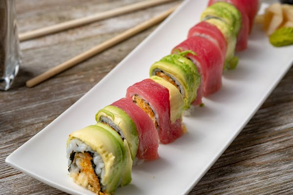 Ahi Crunch Roll
