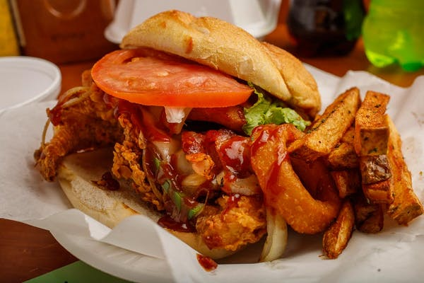 Rodeo Kick'n Chicken Sandwich