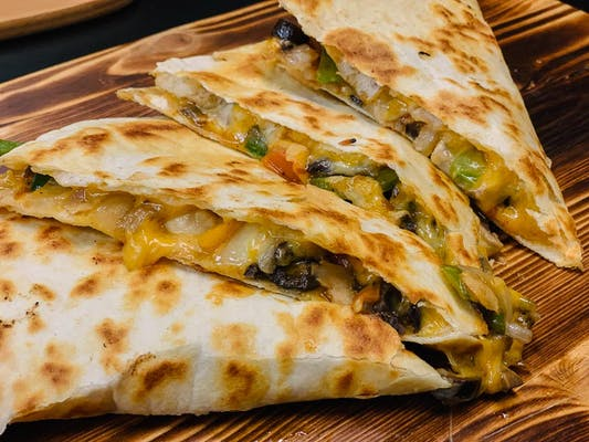 The Spicy Spinach Quesadilla
