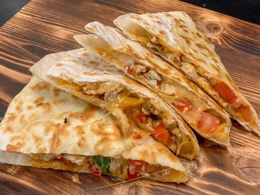 The Spicy Chicken Quesadilla