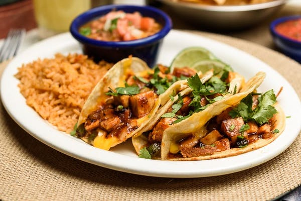 Skinny BBQ Chicken Tacos
