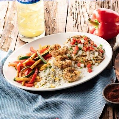Chimichurri Chicken & Shrimp