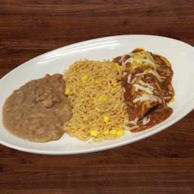 Kid's Enchilada Plate