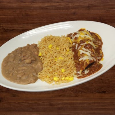 Kid's Enchilada Plate