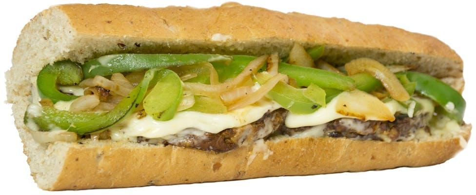 Black Bean Burger Sub